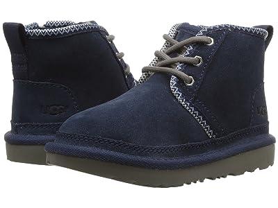 UGG Kids Neumel II Tasman (Toddler/Little Kid) (Navy/Tasman) Boys Shoes