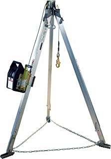 3M DBI-SALA 8300031 Confined Space Kit 7' Aluminum Tripod and SalaLi' II Winch with 60' 1/4