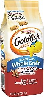 Pepperidge Farm, Goldfish, Grahams, Crackers, Cinnamon, 6.6 oz., Bag, 24-count