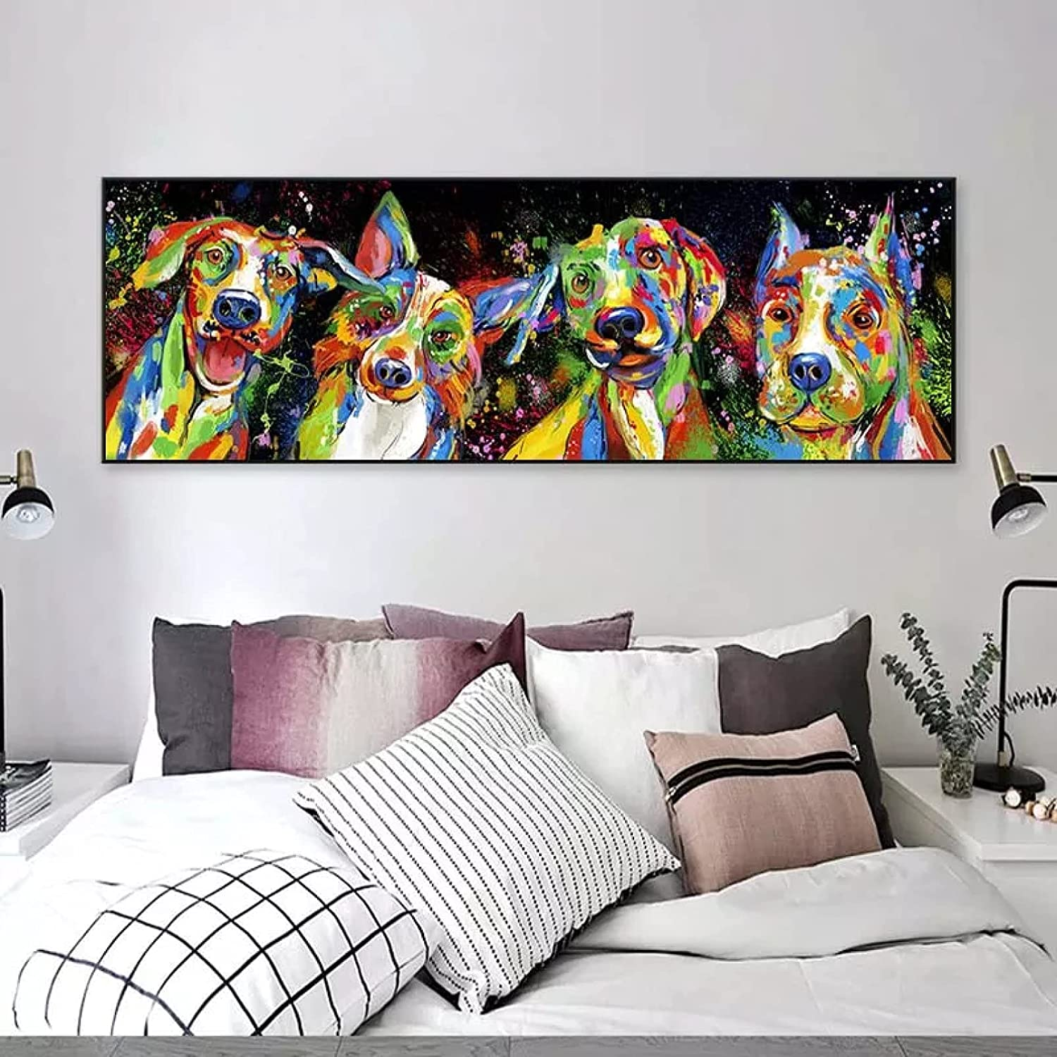 Topics on TV TDPYT Home Canvas Decorative Painting Abstract Art Max 67% OFF Canva Animals