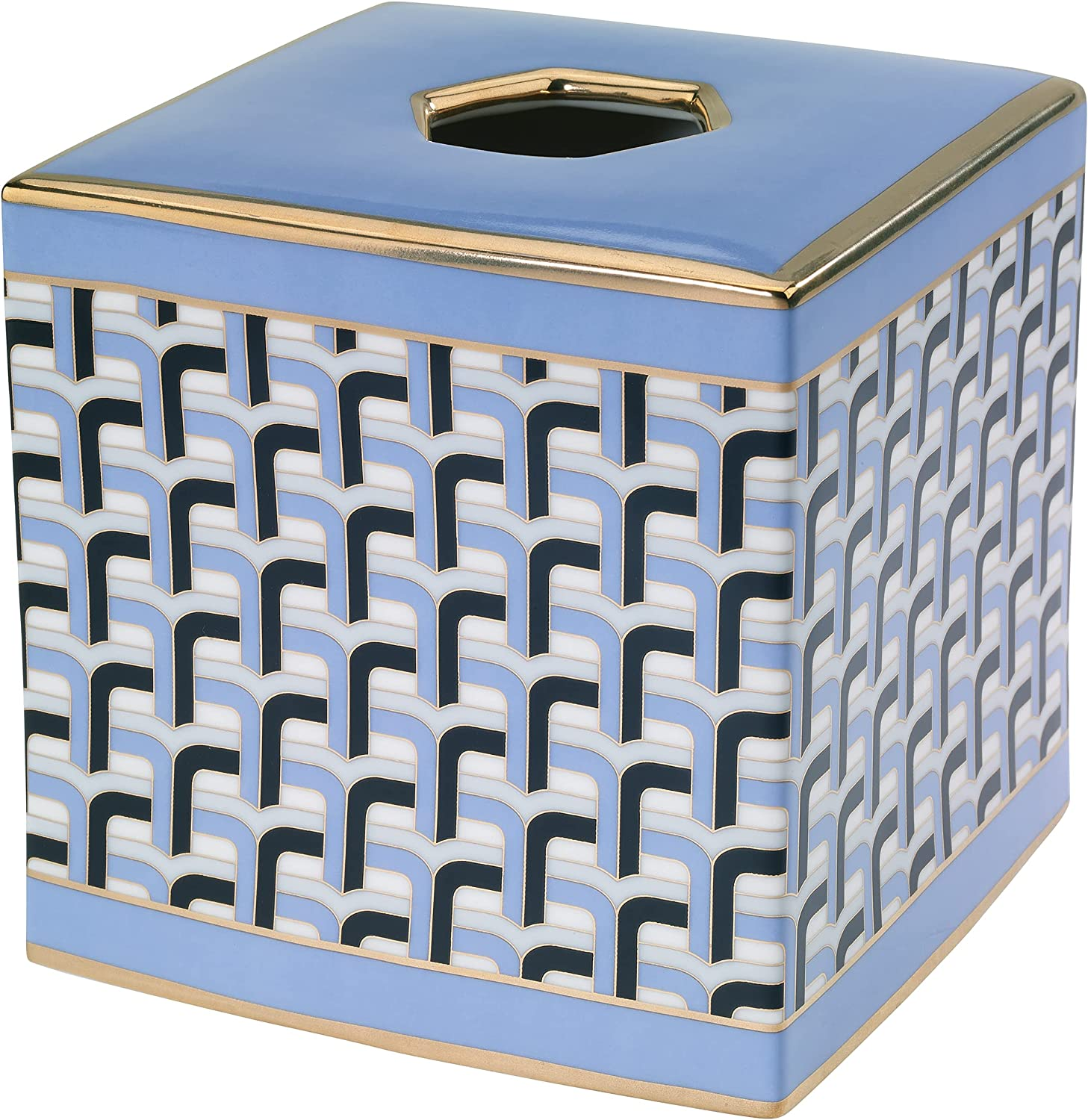 Avanti Linens Credence Jonathan Adler Collection-Versailles Beauty products Tissue Cover