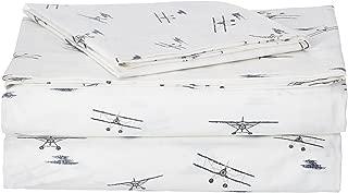Eddie Bauer Sea Planes Sheet Set, Twin