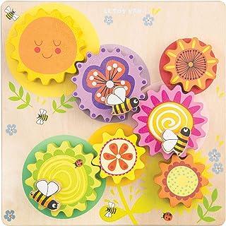 """Le Toy Van petilou """"Busy Bee lärande"""" gear och COG-set"""
