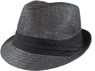 Best straw fedora hat with black band Reviews