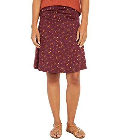 Toad&Co Chaka Skirt (Port Painter