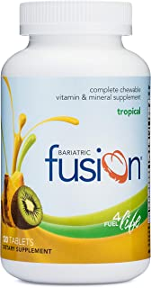 Bariatric Fusion Tropical Complete Chewable Bariatric Multivitamin For Bariatric Surgery Patients Including Gastric Bypass...
