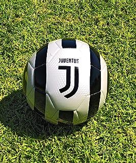 Balón de fútbol Juventus tamaño 5 oficial de fútbol blanco y negro 2019-2020 ideal para jugadores, aficionados, entrenador...