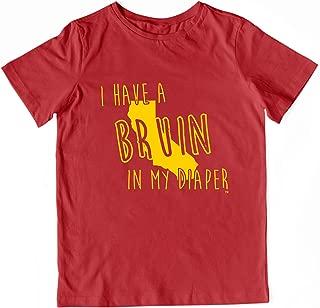 In My Diaper I Have A Bruin USC California Sports Pride Toddler Shirt