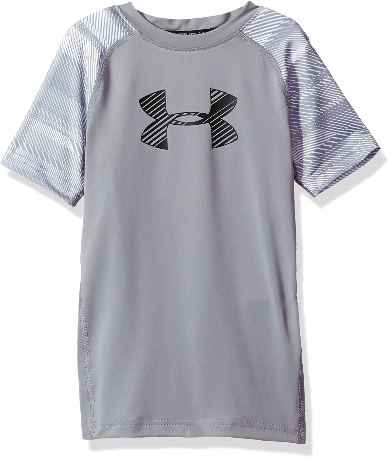 Under Armour Boys/' Train to Game Fitness Top Short Sleeve Shirt Black Small