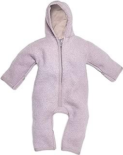 "Lilakind/"" Baby Overall Einteiler mit Kapuze Softshell Grau Gr/ün Lizard Eidechse Gr 56//62-116//122 Made in Germany"