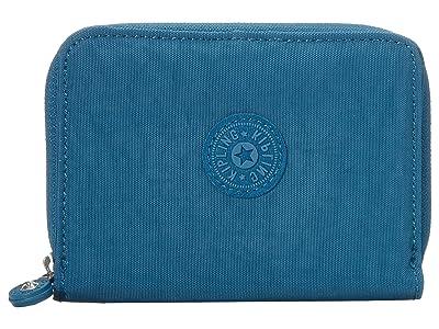 Kipling Money Love RFID Wallet (Mystic Blue) Handbags