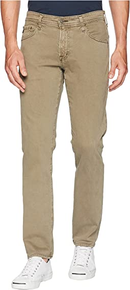 Tellis Modern Slim Leg Denim in Sulfur Canyon Moss