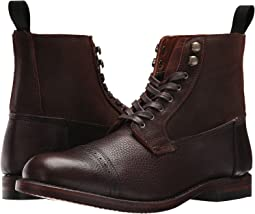 26d1a35375446 Brown Multi Waxed Pebble Leather/Suede