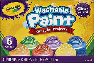Crayola 6 2 Oz. Glitter Paint Set, Multi-Colour