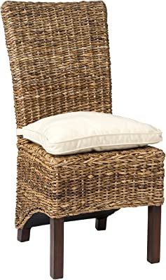 Amazon Com Louis Rattan Side Chair Chairs