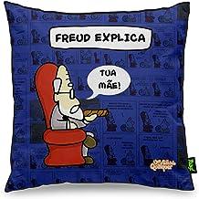 Almofada USQ Profissões Freud Explica, Yaay, Multicor, 40 x 40 cm