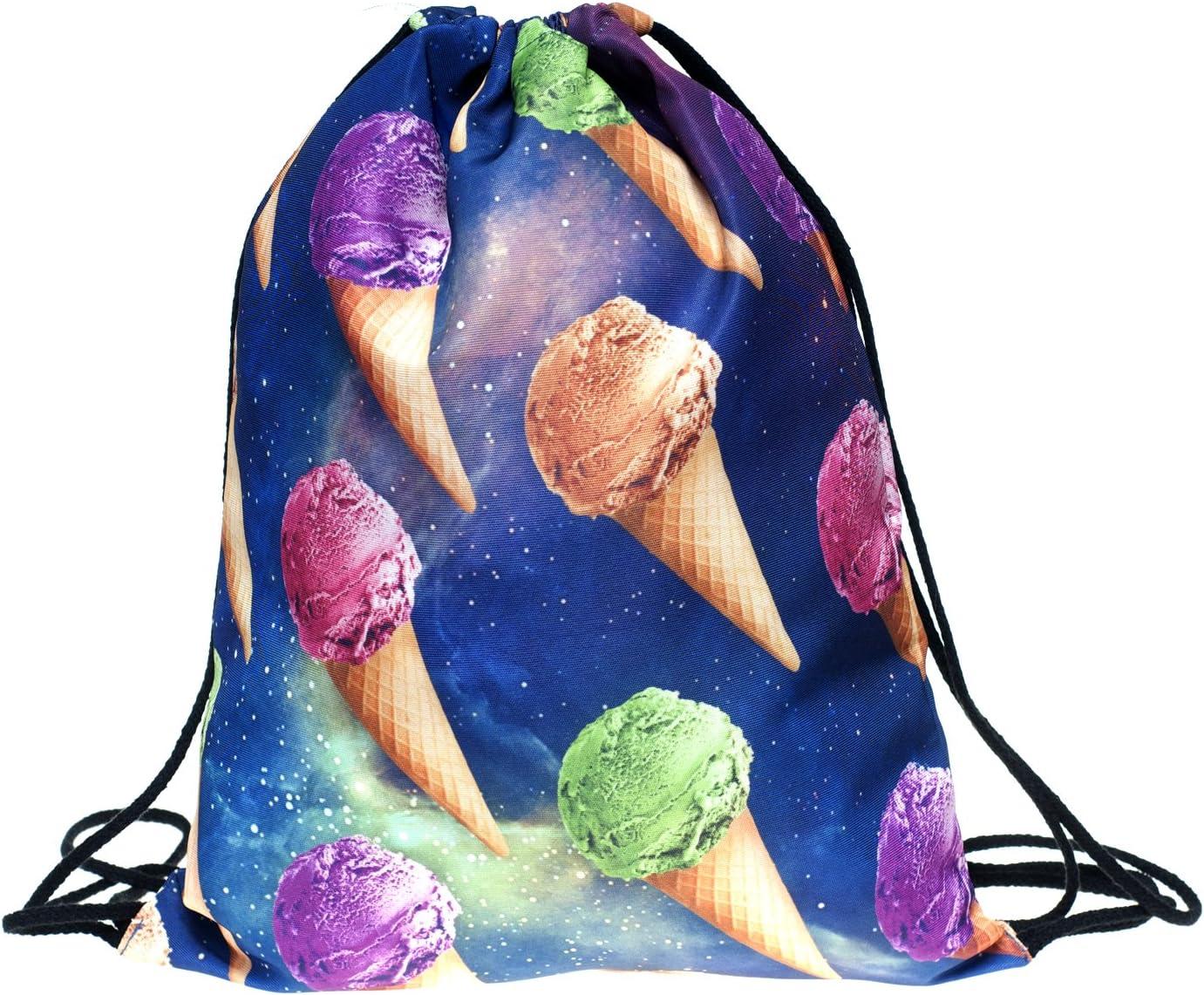 Fringoo Men's Fullprint Tulsa Mall Drawstring Shoulder Sacramento Mall Backpack Rucksac Bag