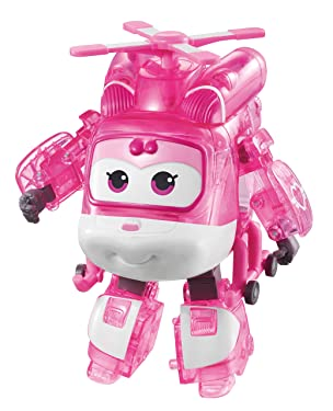 """Super Wings - Limited Edition X-Ray Series   Transforming Vehicle   Dizzy   Plane   Bot   5""""Figure"""
