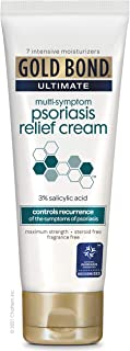 Gold Bond Ultimate Psoriasis Relief Cream, 4 Ounce, Contains Salicylic Acid to Help Control Reoccurrences of Psoriasis Sym...
