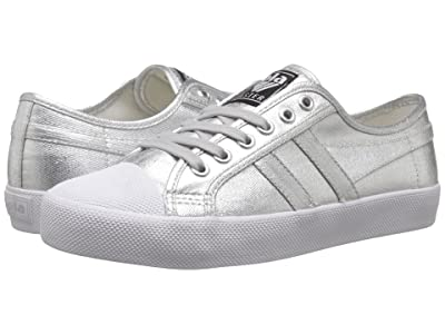 Gola Coaster Metallic (Silver) Women