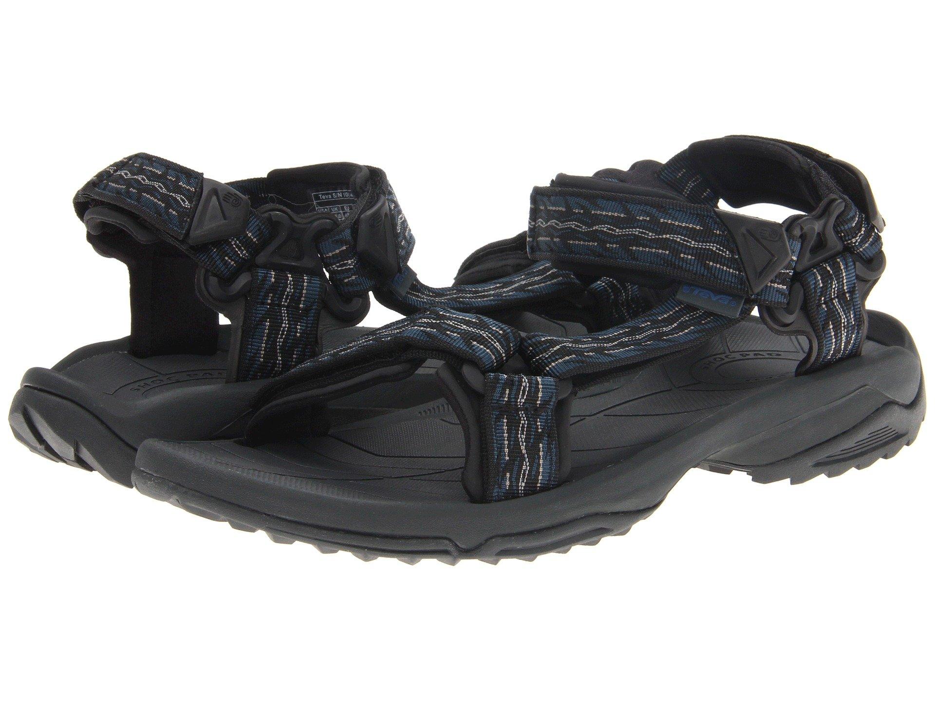 TEVA Men'S M Terra Fi 4 Water-Resistant Sandals Men'S Shoes in Firetread Midnight