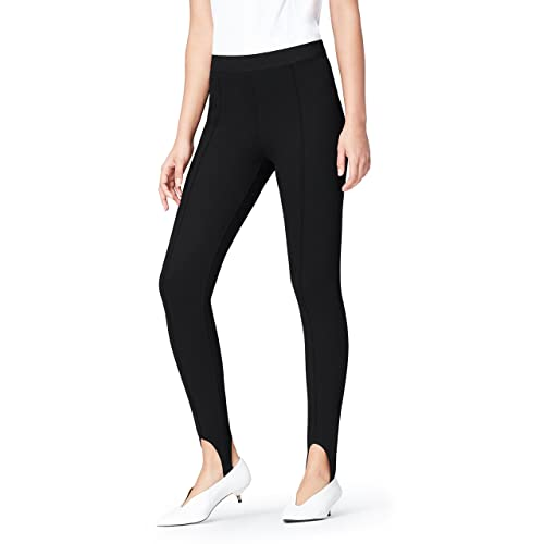 3f84cb126bb5f2 find. Women's Skinny Mid Rise Stretch Stirrup Detail Jeggings