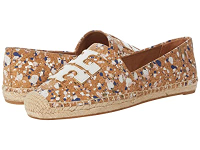 Tory Burch Ines Espadrille (New Ivory Confetti/New Ivory/Gold) Women