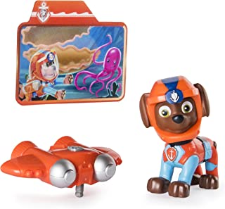 Paw Patrol Sea Patrol - Light Up Zuma with Pup Pack and Mission Card