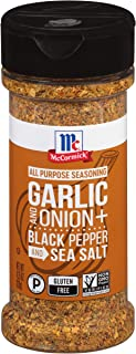 McCormick Garlic, Onion, Black Pepper & Sea Salt All Purpose Seasoning, 4.25 oz