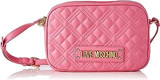 Love Moschino Damen, Schultertasche, Kollektion Frühling Sommer 2021, Rosa, Einzigartig