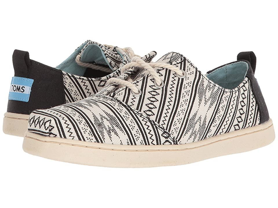 TOMS Kids Lumin (Little Kid/Big Kid) (Birch Ethnic Tribal) Girl