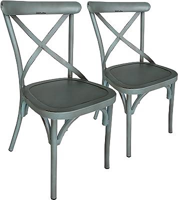 Fine Amazon Com Titan 3 Piece Bistro Table Chair Dining Set Dailytribune Chair Design For Home Dailytribuneorg