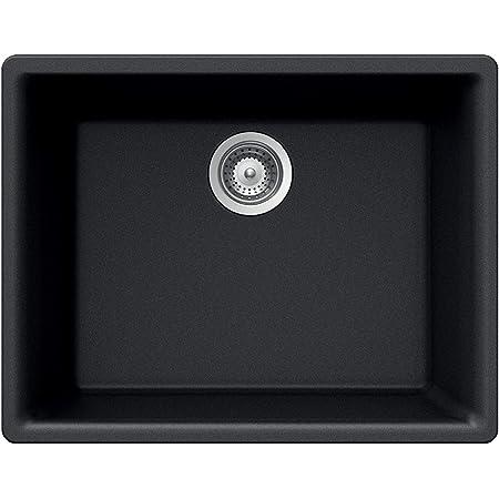 Houzer G-100U MIDNITE Sink, Black