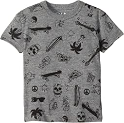 Extra Soft All Over Cool Print Tee (Toddler/Little Kids)