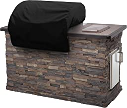 Covermates – Built–in Grill Cover – 42W x 28D x 14H – Elite Collection – 3 YR Warranty – Year Around Protection - Black