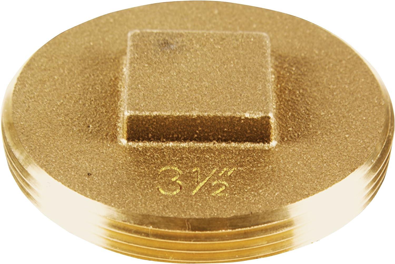 Oatey Save Sales money 42373 185 Brass Cleanout Plug 2-Inch 3-1
