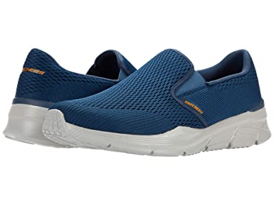 SKECHERS Equalizer 4.0 Triple Play (Navy/Orange) Men