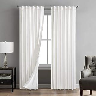 Marlee 2-Pack Room Darkening Rod Pocket Window Panel Pair
