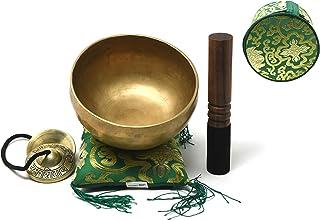 کاسه آواز خواندن تبتی ، چاکرا ، تبت ، عالی و شفابخش ، از 7 فلز ساخته شده است. از 7 فلز ساخته شده است.