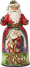 Jim Shore for Enesco Heartwood Creek Jolly Old St Nicholas Santa Figurine, 9.75-Inch
