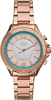 Fossil Women's Sadie Stainless Steel Hybrid Smartwatch with Activity Tracking and Smartphone Notifications