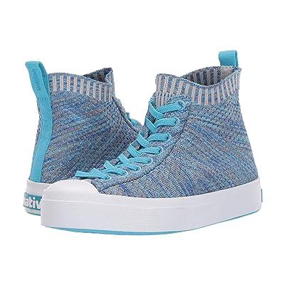 Native Kids Shoes Jefferson 2.0 High Lite (Little Kid) (Hamachi Blue Melange/Shell White) Kids Shoes