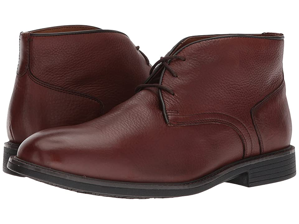 Johnston & Murphy Waterproof XC4(r) Hollis Casual Dress Chukka (Mahogany Waterproof Full Grain) Men