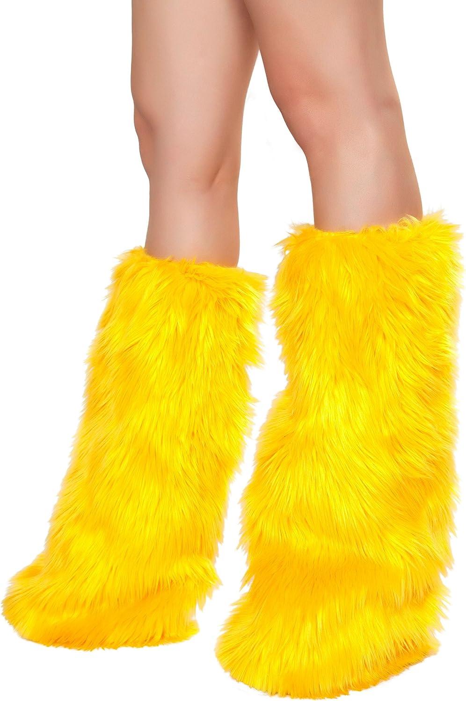 Roma Costume Women's Faux Fur Leg Warmer