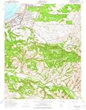 YellowMaps Seaside CA topo map, 1:24000 Scale, 7.5 X 7.5 Minute, Historical, 1947, Updated 1965, 26.8 x 22 in
