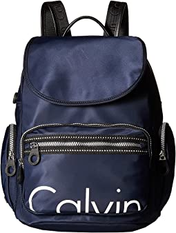 Athleisure Nylon Calvin Backpack