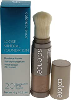 Colorescience Loose Mineral Foundation Brush SPF 20 - Tan Natural, 6 g