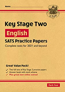 New KS2 English SATS Practice Papers: Pack 4 - for the 2022 tests (with free Online Extras)
