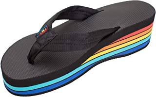 Rainbow Sandals Women's Six Layer Wedge Rubber 1