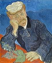 Sumilace Oil Paintings Canvas Vincent Van Gogh Art Prints Framed (Le Docteur Paul Gachet, 1890) Art Work for Home Decorations - 20